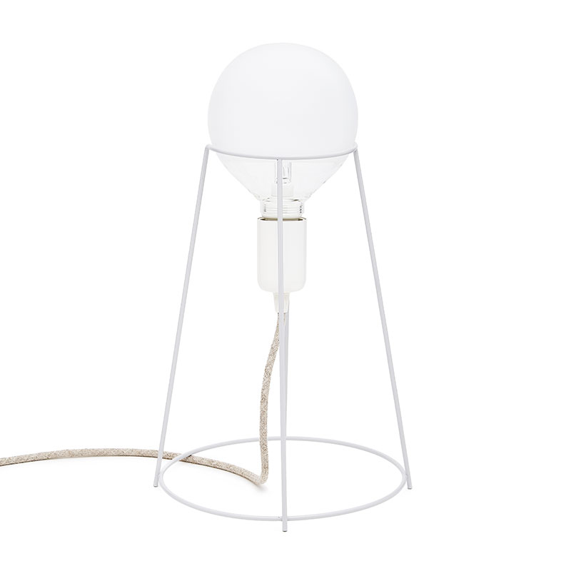 Agraffé Table Lamp – White
