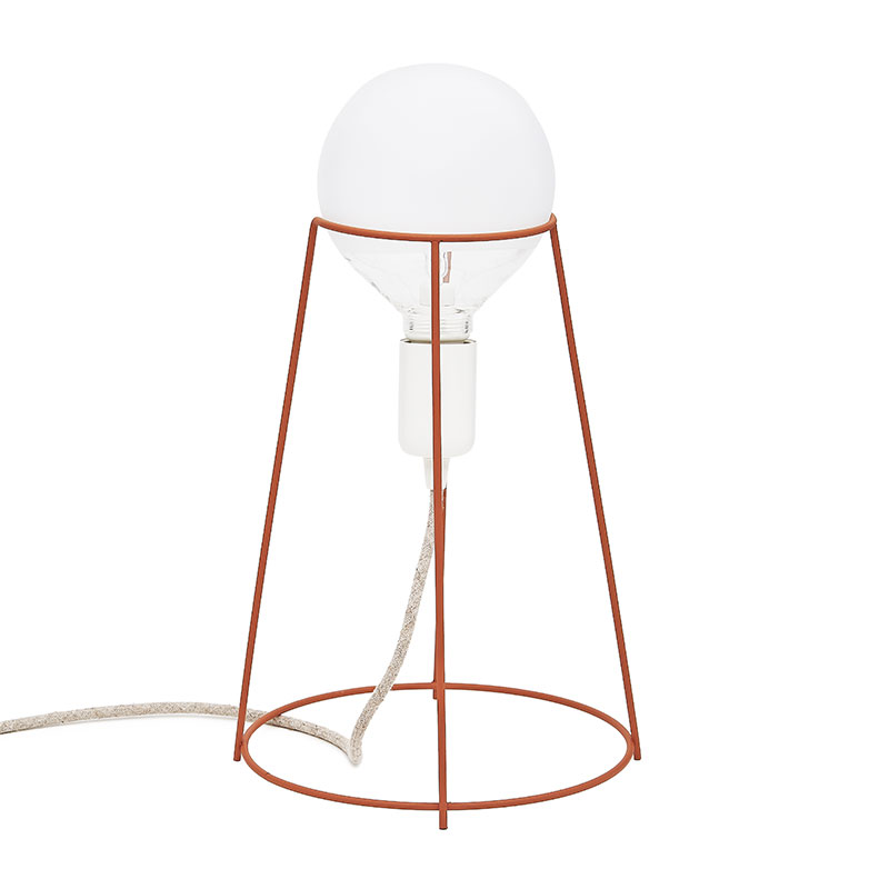 Agraffé Table Lamp – Copper