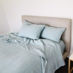 Organic Hemp Sheets Light Turquoise