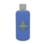Pure Free Glass Water Bottle Deep Blue