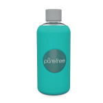 Pure Free Glass Water Bottle Turquoise