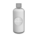 Pure Free Glass Water Bottle White
