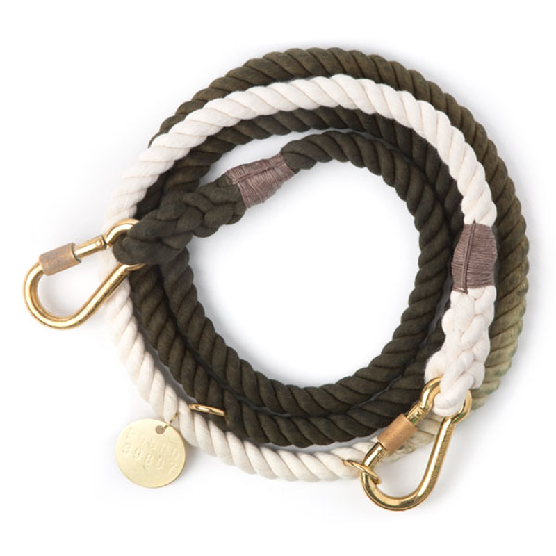 found-my-animal-olive-fade-dog-leash