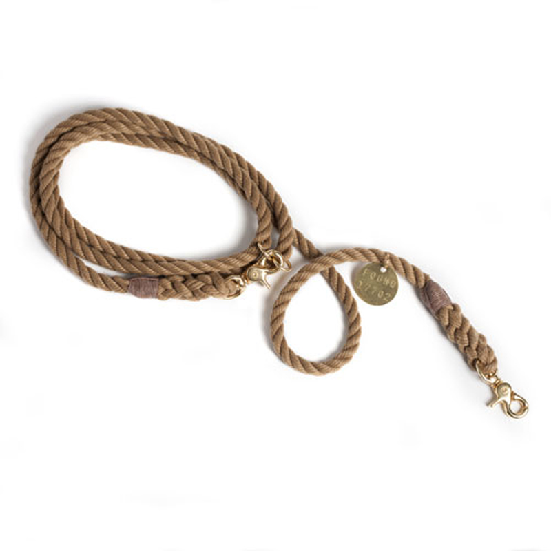 Home Pets Dog Leashes Natural Rope Leash