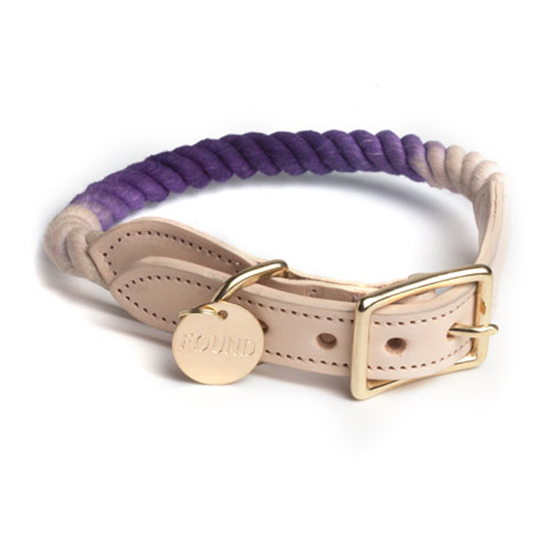Found-My-Animal-Purple-Fade-Dog-Collar