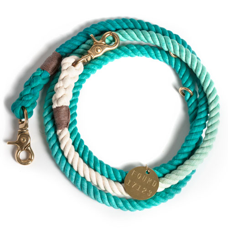 Turquoise Fade Rope Dog Leash 1 Beans and Jazz : Turquoise Fade Rope Dog Leash 1 from beansandjazz.com.au size 800 x 800 jpeg 256kB