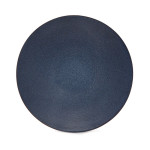 Large Copper and Enamel Bowl – Midnight Blue