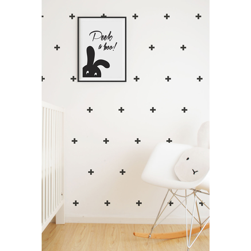 Wall-Vinyls-Black-Crosses
