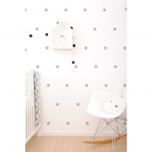 Wall-Vinyls-Grey-Stars
