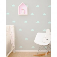 Wall-Vinyls-Mint-Clouds-1