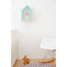 Wall-Vinyls-Mint-Dots