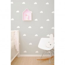 Wall-Vinyls-White-Clouds