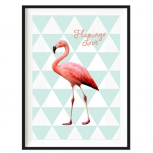 flamingo-love-kids-print