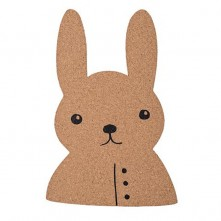 rabbit-shaped-pin-board