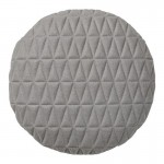 Round-Grey-Quilted-Cushion