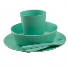 Green-Kids-Bamboo-Dinner-Set-1