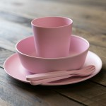 Pink-Kids-Bamboo-Dinner-Set-4