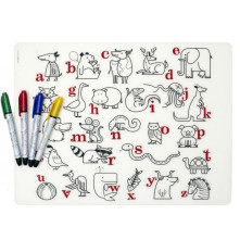 Modern-Twist-Mark-Mat-Silicon-Alphabet-Animals-5
