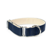 two-tone-cotton-dog-collar-navy-camel