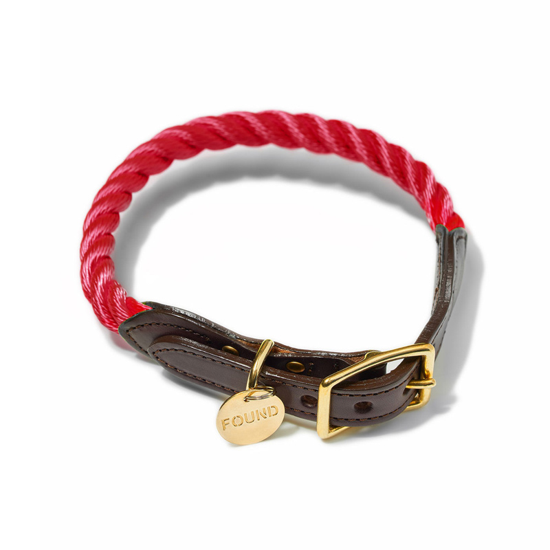 Found-My-Animal-Red-Rope-Dog-Collar