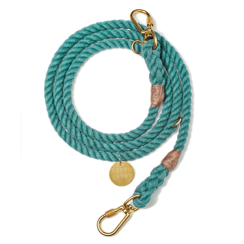 Found-My-Animal-Teal-Upcycled-Rope-Dog-Leash