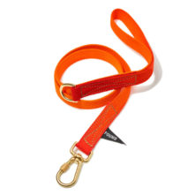 Found My Animal Orange Magenta Dog Leash